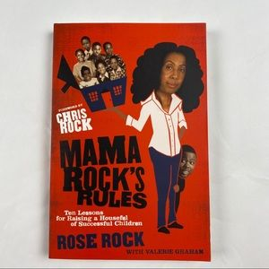 NWT-Mama Rock's Rules Signed by Rose Rock